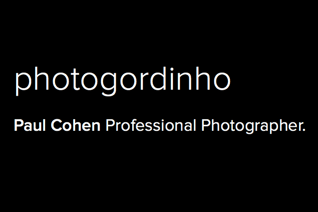 "Paul ""Gordinho"" Cohen Photography"